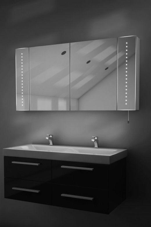 Karma Led Bathroom Cabinet With Battery Power Bathroom Mirror Cabinet Bathroom Mirror Mirror Cabinets