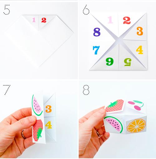 Оригами из бумаги детей фото
