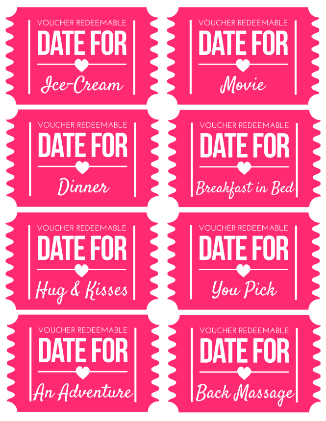 Free printable valentines day coupons free printable valentines free printable and coupons - Code promo paul valentine ...