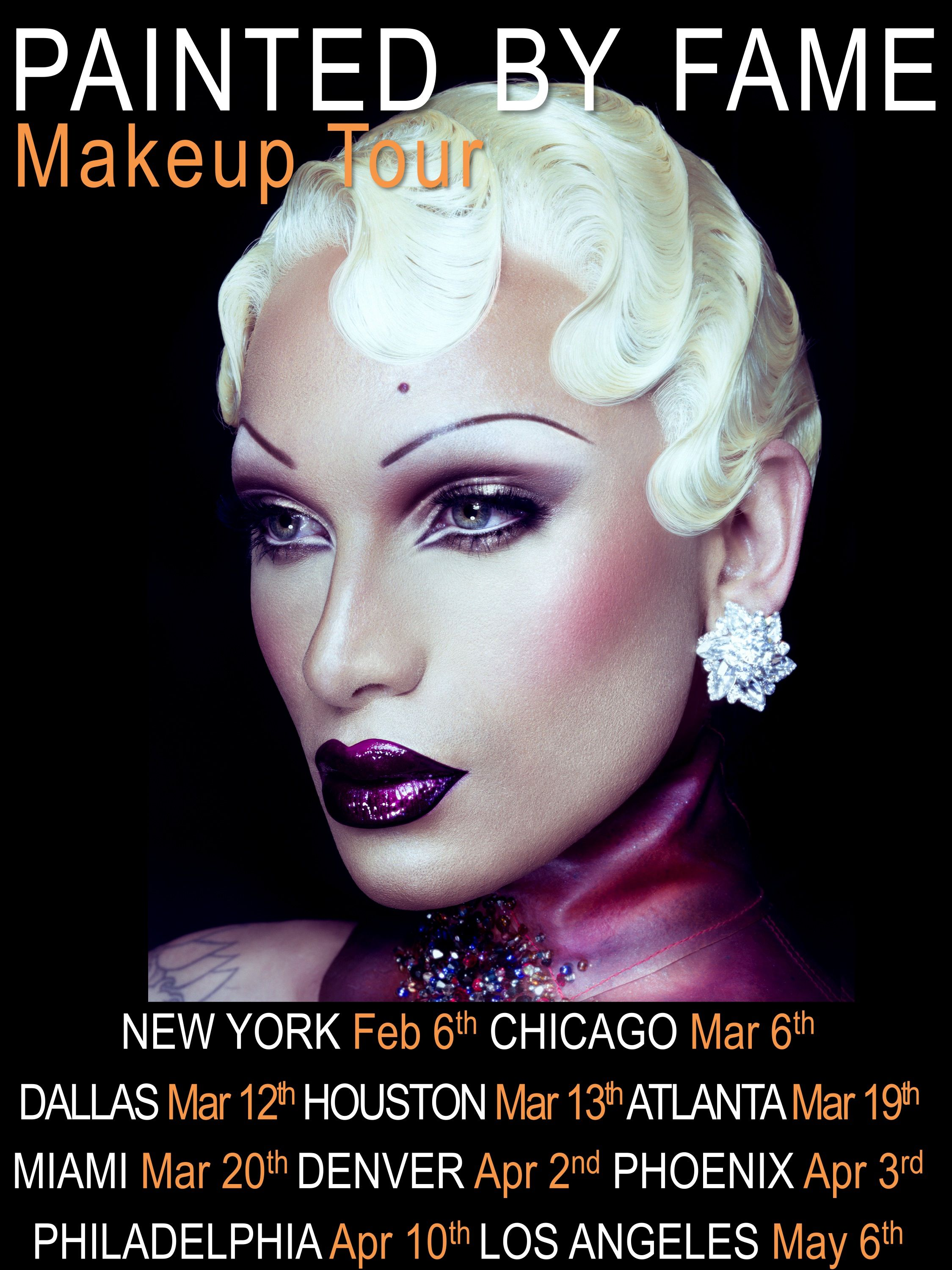 Miss Fame Painted By Fame Makeup Classes Http Missfamenyc Bigcartel Com My Books Best Makeup Products Make You Up