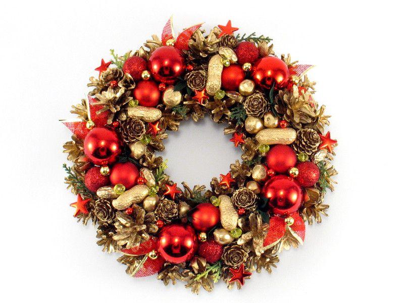 Christmas Home Decor \u2013 Christmas wreath \u2013 a unique product by - christmas home decor