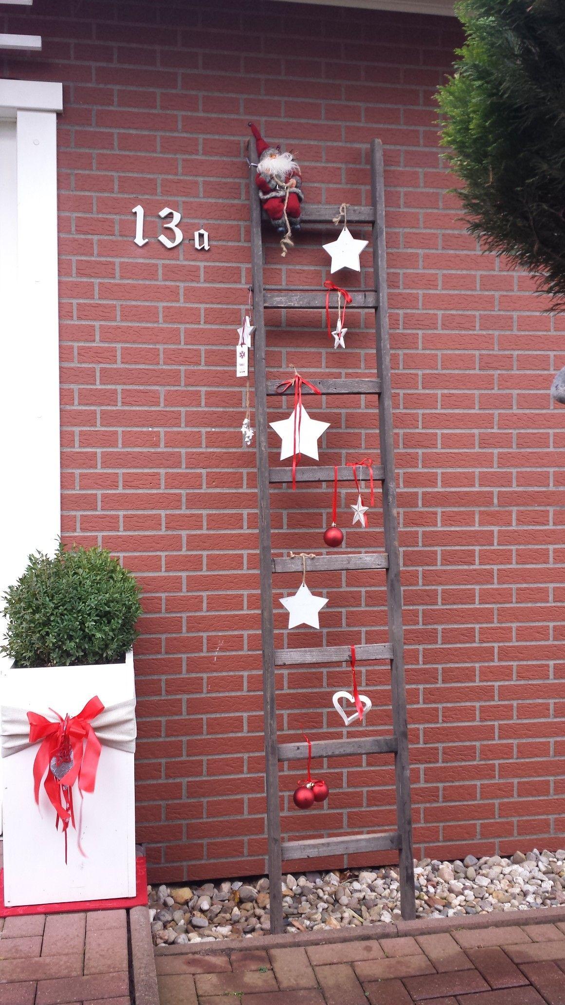 Photo of Weihnachten Hauseingang