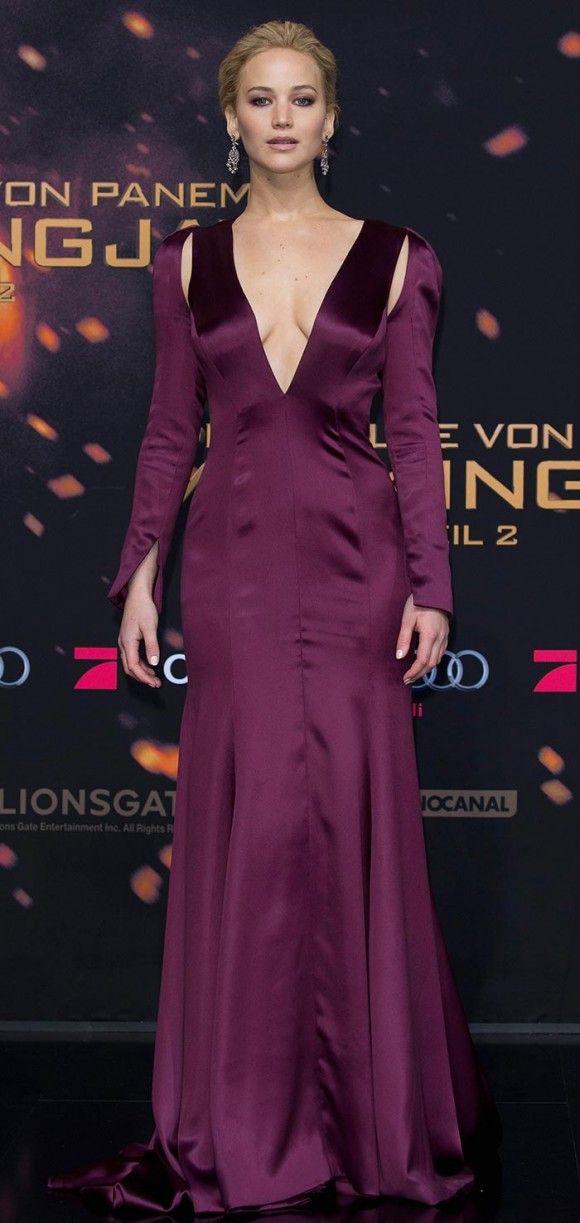 Jennifer Lawrence - premiere de Jogos Vorazes - A Esperança 2, em Berlim.