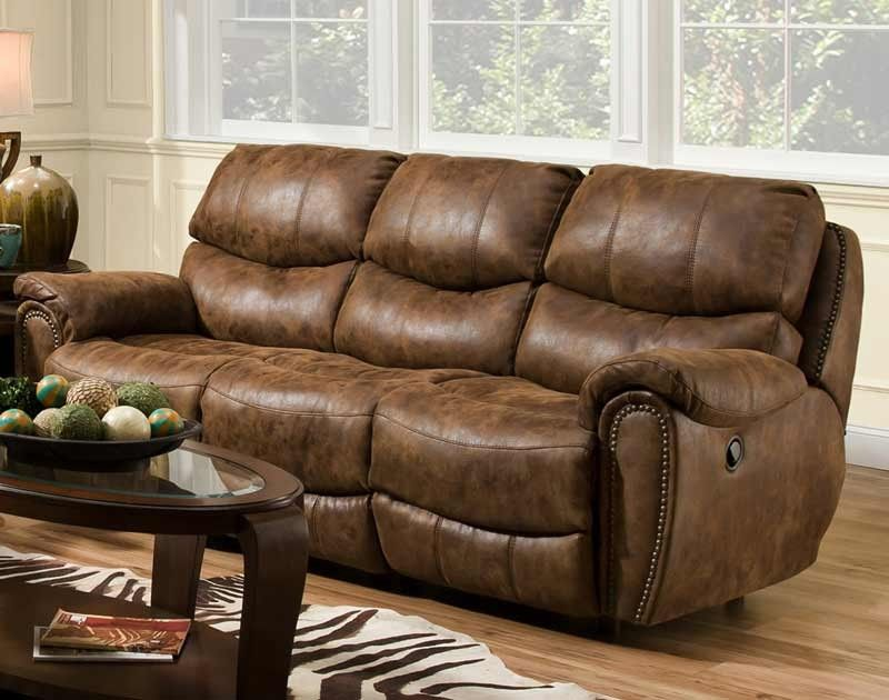 Incroyable Franklin Furniture   Richmond Reclining Sofa W/ Nail Head Trim   41542