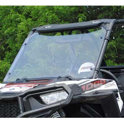 Super ATV RZR Turbo, 1000 & 900 Scratch Resistant Full Windshield
