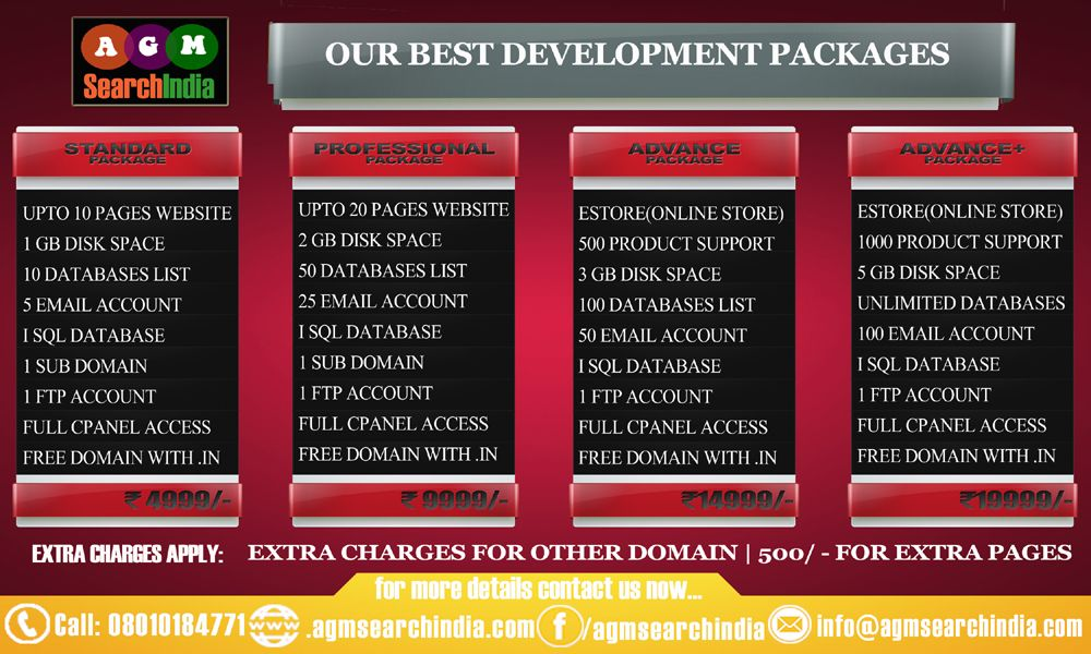 Get #Web #Development Services at your price, For more: Call: 08010184771 or Visit: www.agmsearchindia.com.com