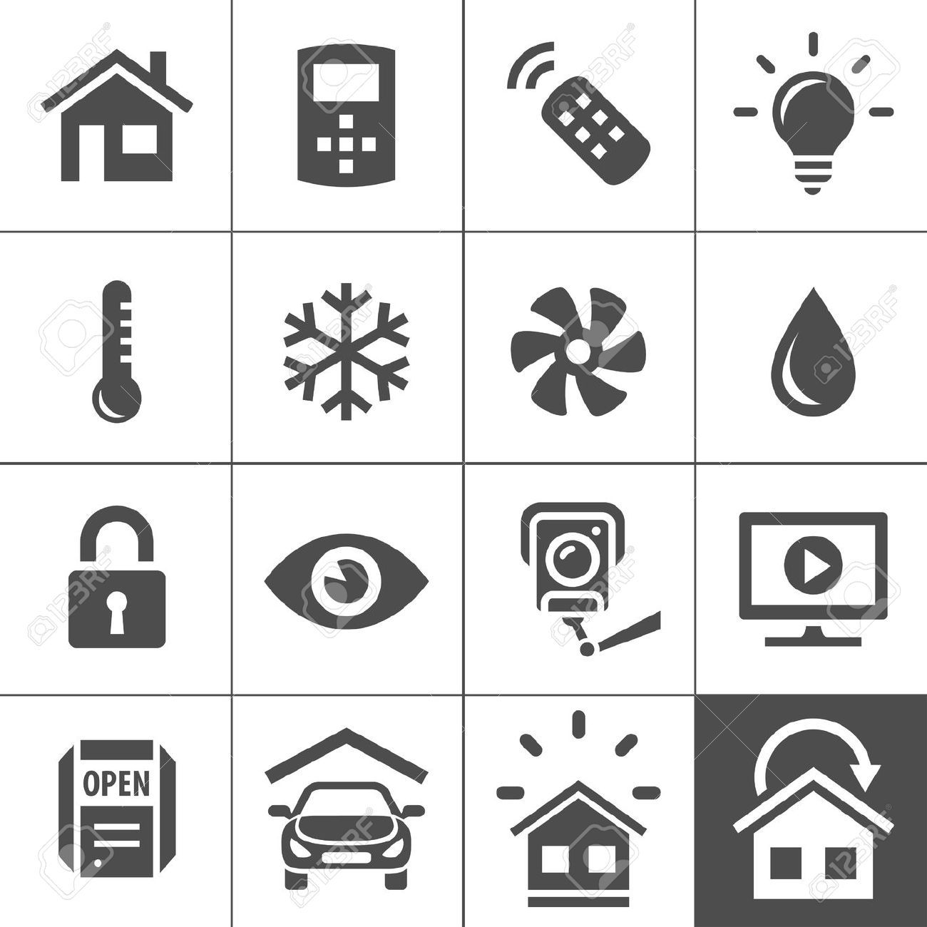 smart home icon Google 搜尋 디자인