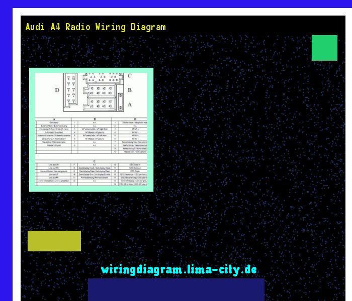 audi a4 radio wiring diagram  wiring diagram 17461  - amazing wiring diagram  collection