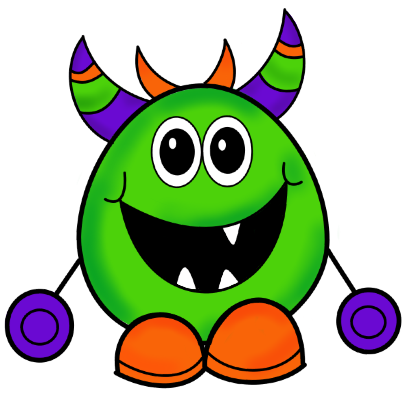 Ch B Clipart Monster