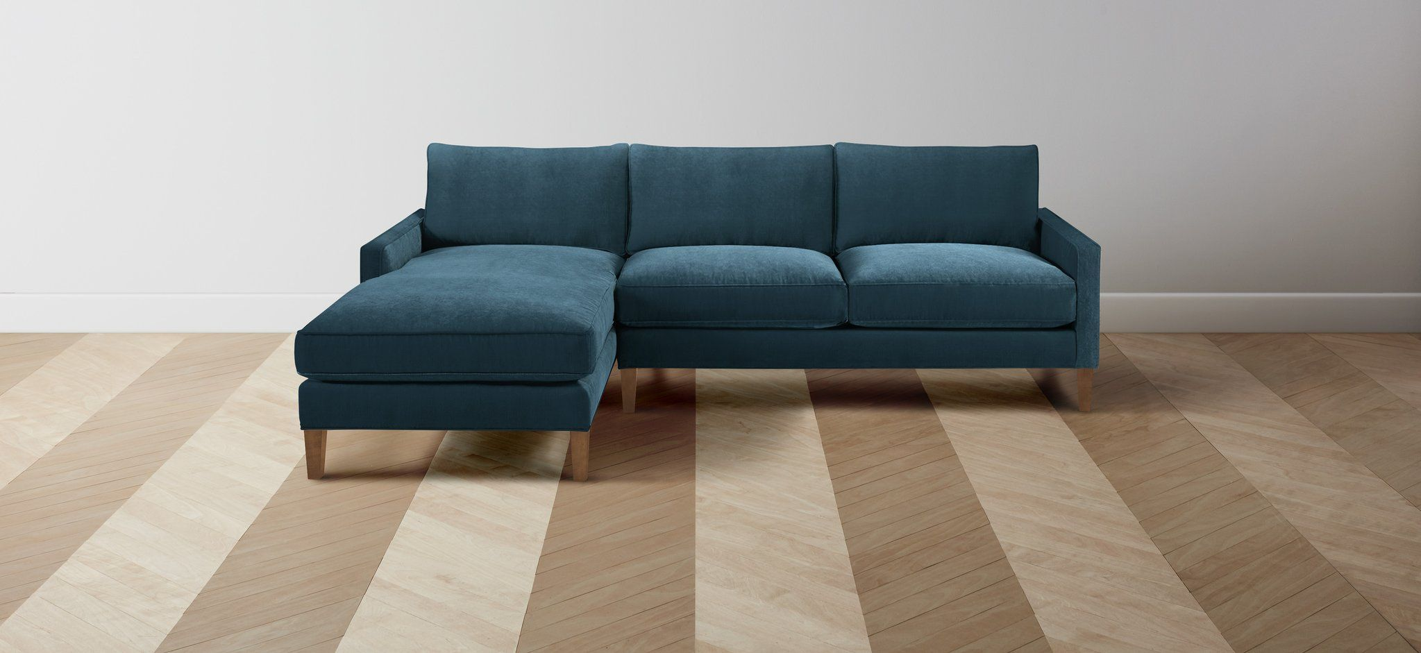 The irving merino dusk sofa