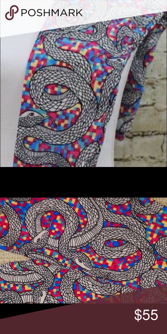 LuLaRoe OS Unicorn 🦄 Snakes BNWT Bundle and save LuLaRoe Pants Leggings