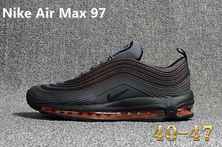Nike 97 KPU MAX 97 KPU New Men Carbon Grey Orange 40 47