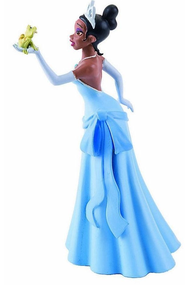 tiana   figura bullyland: tiana con vestido de novia   ♥ tiana