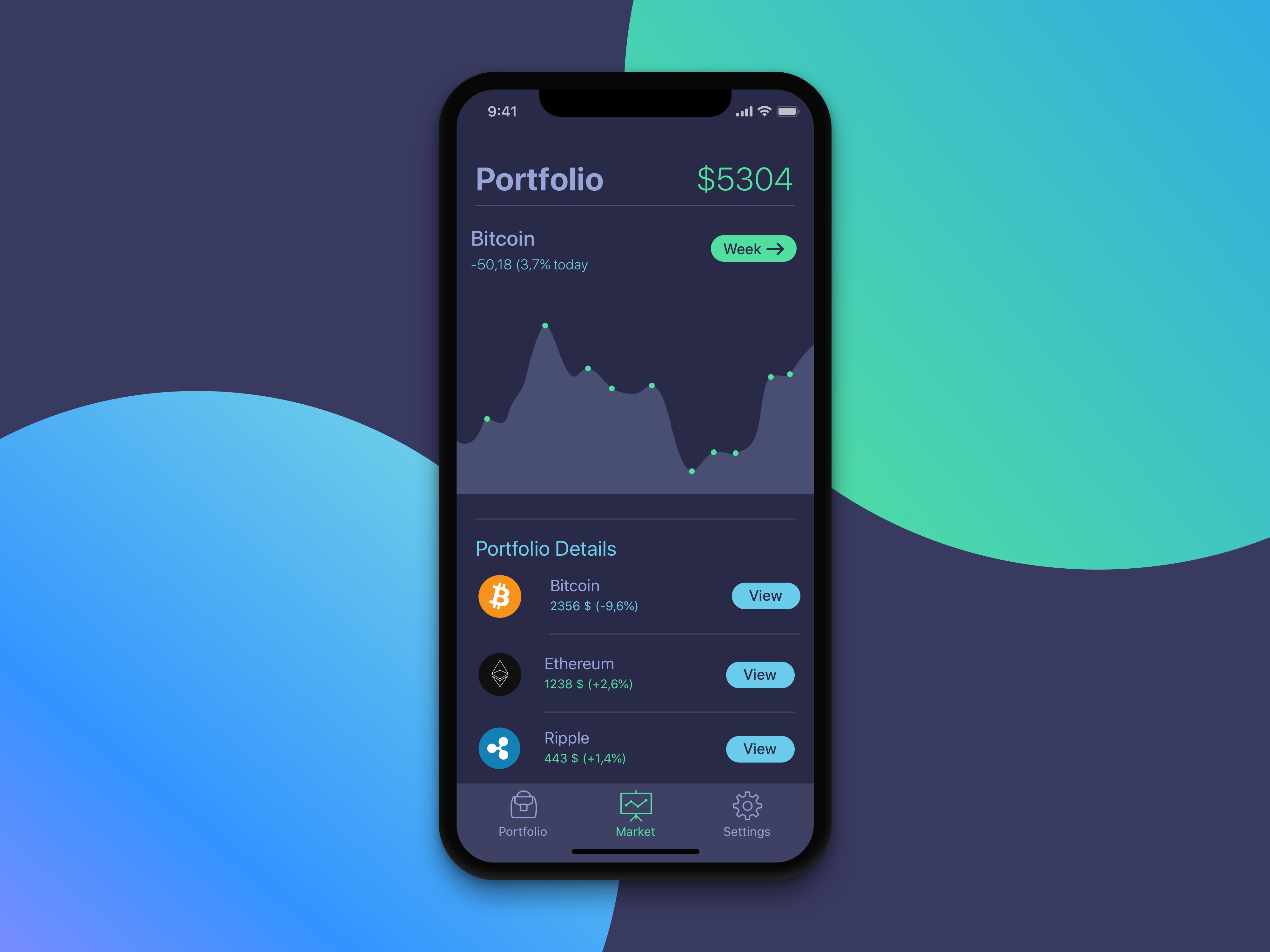 best cryptocurrency app iphone
