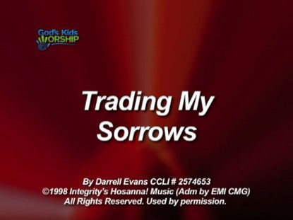 A kid-friendly, singable version of the popular worship song by Darrell Evans. All kids voices, singing in a key that works for kids, at a tempo and length that will keep kids attention. Includes stereo and split-track versions.