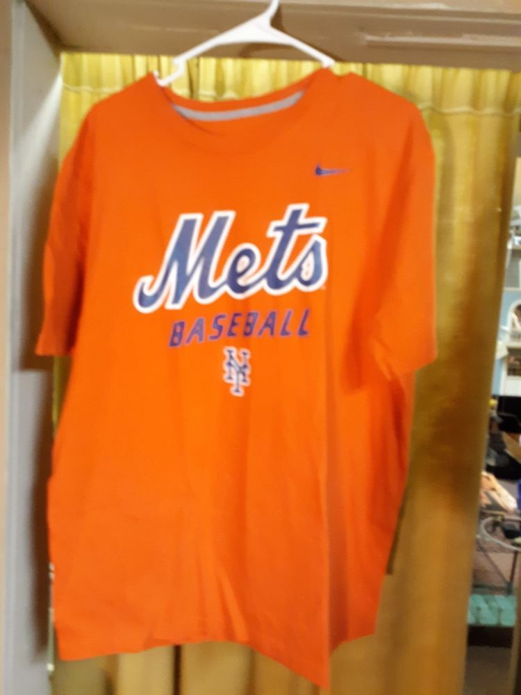 887d752219d3 New York Mets Nike Regular Fit orange XL T Shirt  fashion  clothing  shoes