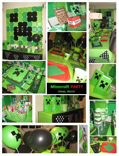 Minecraft Birthday Party  Benja    Birthdays