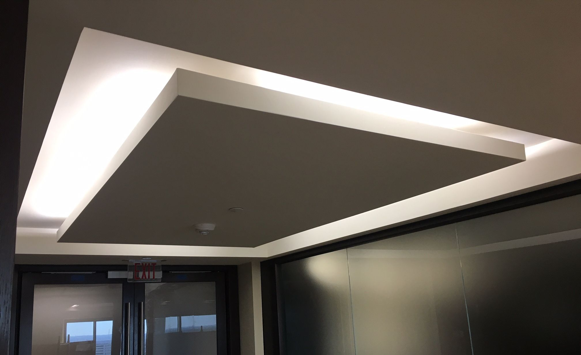 Ceiling Detail Inverted Cove Interior Lighting Ceiling False Ceiling Design Ceiling Design
