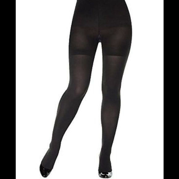 536321180 Spanx Bodyshaping Tights Royal Plum High-waisted for a whittled waistline    a tight end. Feel firmer