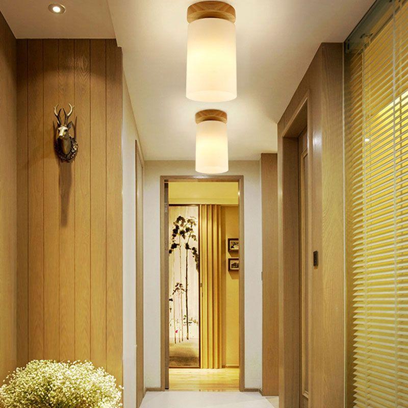 Plafonnier Colonne En Pvc Style Moderne Simple Pour Balcon Couloir