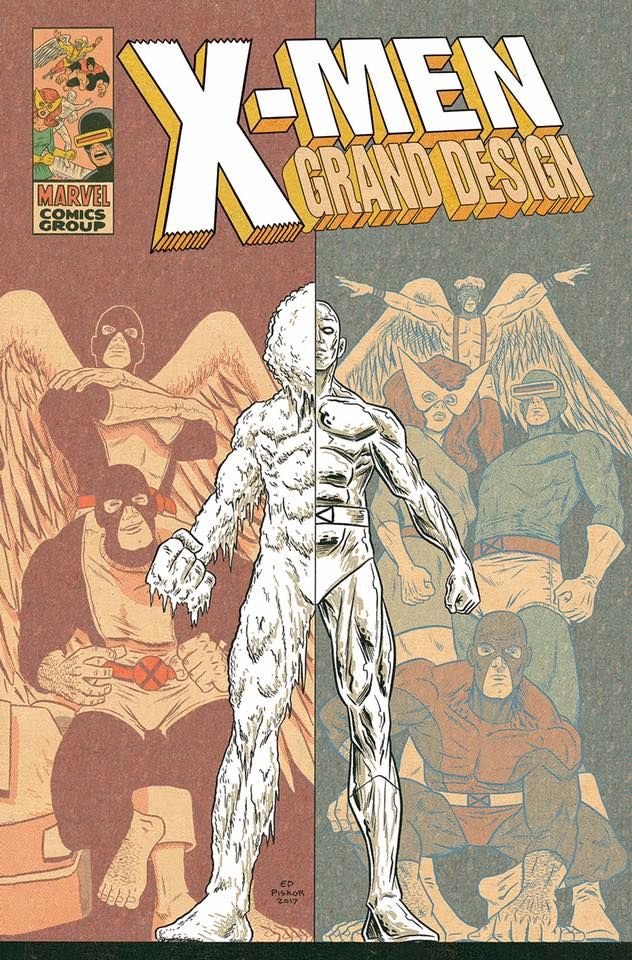 Reveals X Men Grand Design For Marvel Http Www Cbr Com Ed Piskor Xmen Grand Design Comics Grand Designs X Men