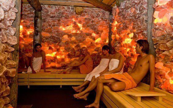 Roblon A/S :: Stone cold lighting in Dutch sauna