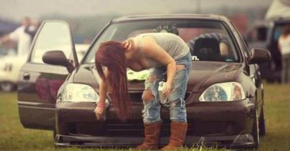 Pimped Out Honda Civic Si JDM GIRL   JDM GIRLS  ...