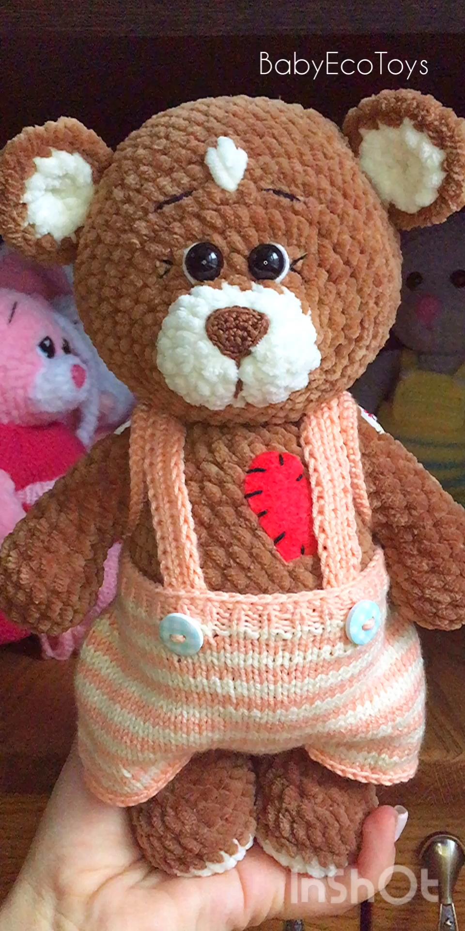 Urso amigurumi no Elo7 | Amigurumi e Amor Ateliê (DF68FA) | 1920x960