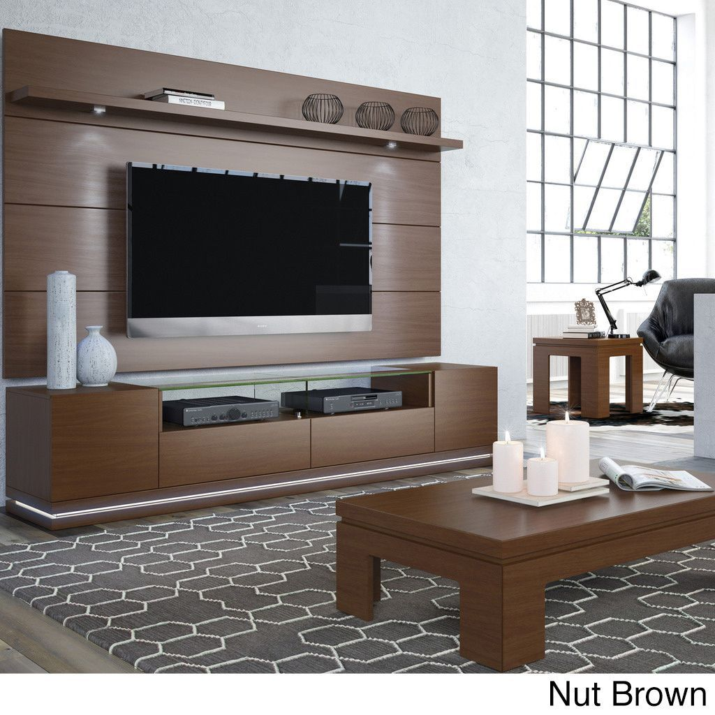 Manhattan Comfort Vanderbilt Tv Stand With Led Lights Products
