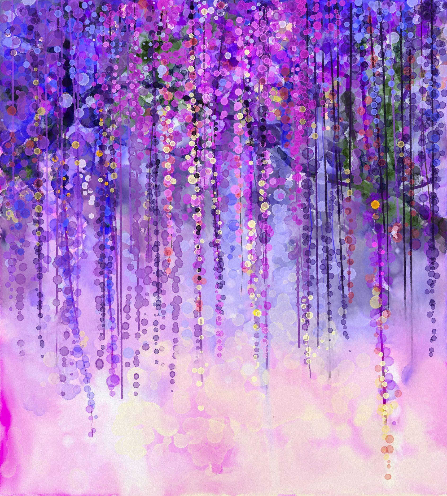 6x8 FT Backdrop Photographers,Rainbow Colored Image with Dark Black Purple Ombre Backdrop Flower Like Swirls Art Background for Kid Baby Artistic Portrait Photo Shoot Studio Props Video Drape