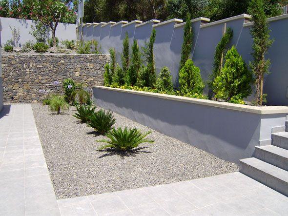 Jardin dise o de jardines paisajismo y jardiner a for Jardines modernos con piedras