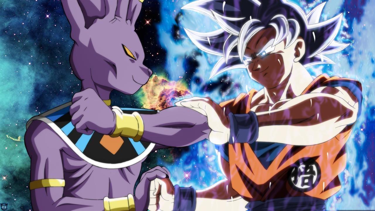 God Beerus Vs Mui Goku By Mohasetif On Deviantart Goku Dragon Ball Wallpapers Dragon Ball Super