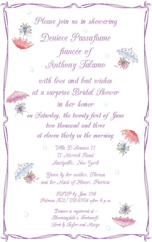 17 Best images about wedding shower invitations on Pinterest ...