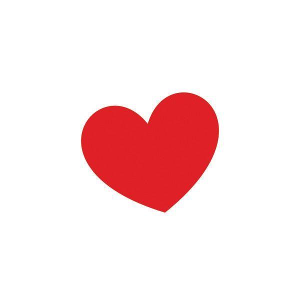 Tattly Temporary Tattoo - Classic Red Heart