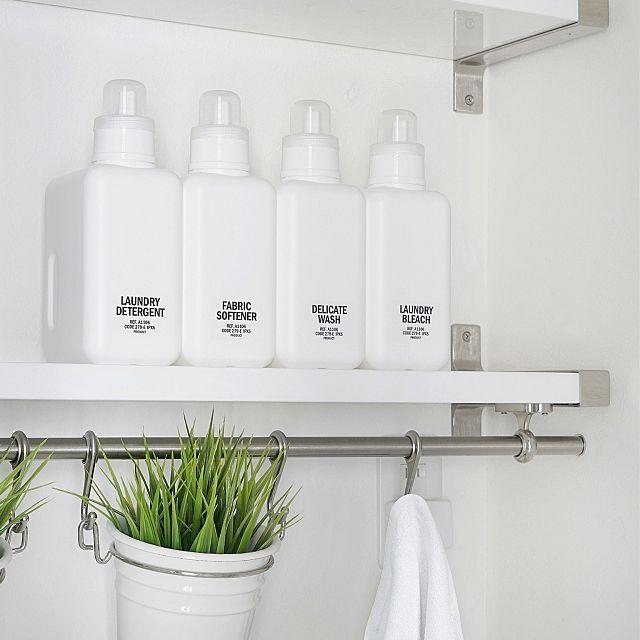 おすすめ詰め替えボトル総集編 おしゃれラベルも100均で 洗剤ボトル