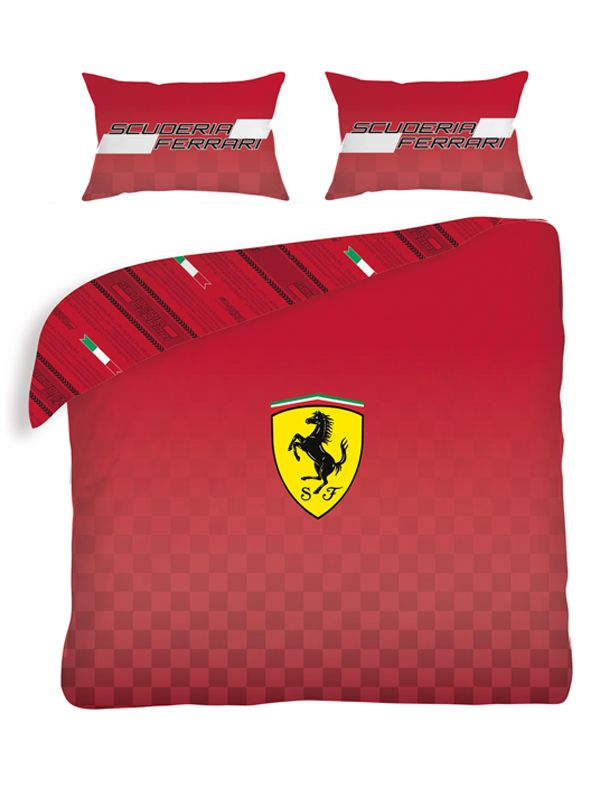 Ferrari Double Duvet Cover Bedroom Bedding Boys
