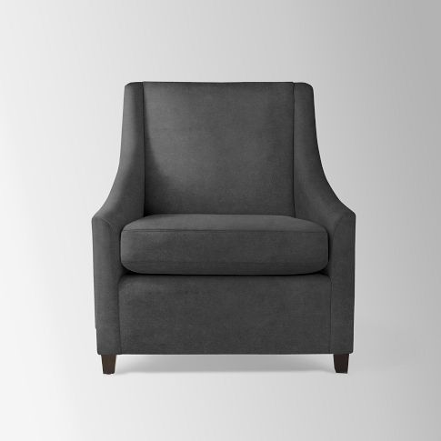 Sweep Armchair | Sweep armchair, Armchair, Upholstered arm ...