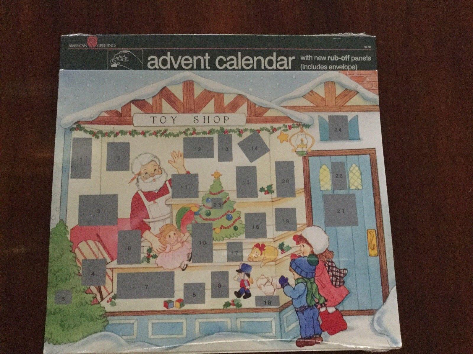 Details About Toy Shop Advent Calendar Sealed Vintage Copyright