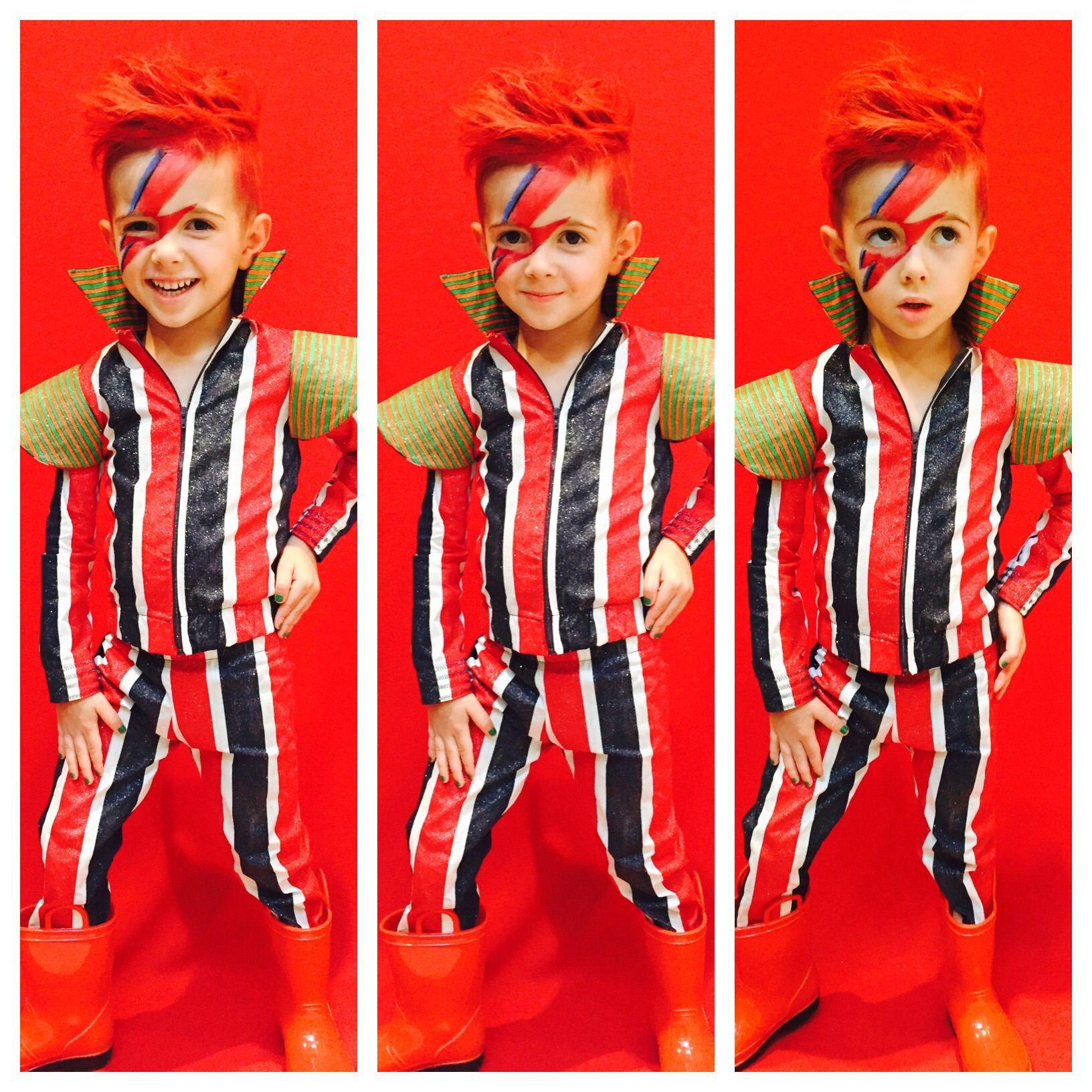 Kids David Bowie / Ziggy Stardust Halloween Costume!   sew ...