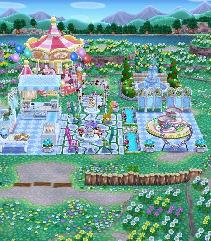 Animal Crossing Greenhouse Wallpaper