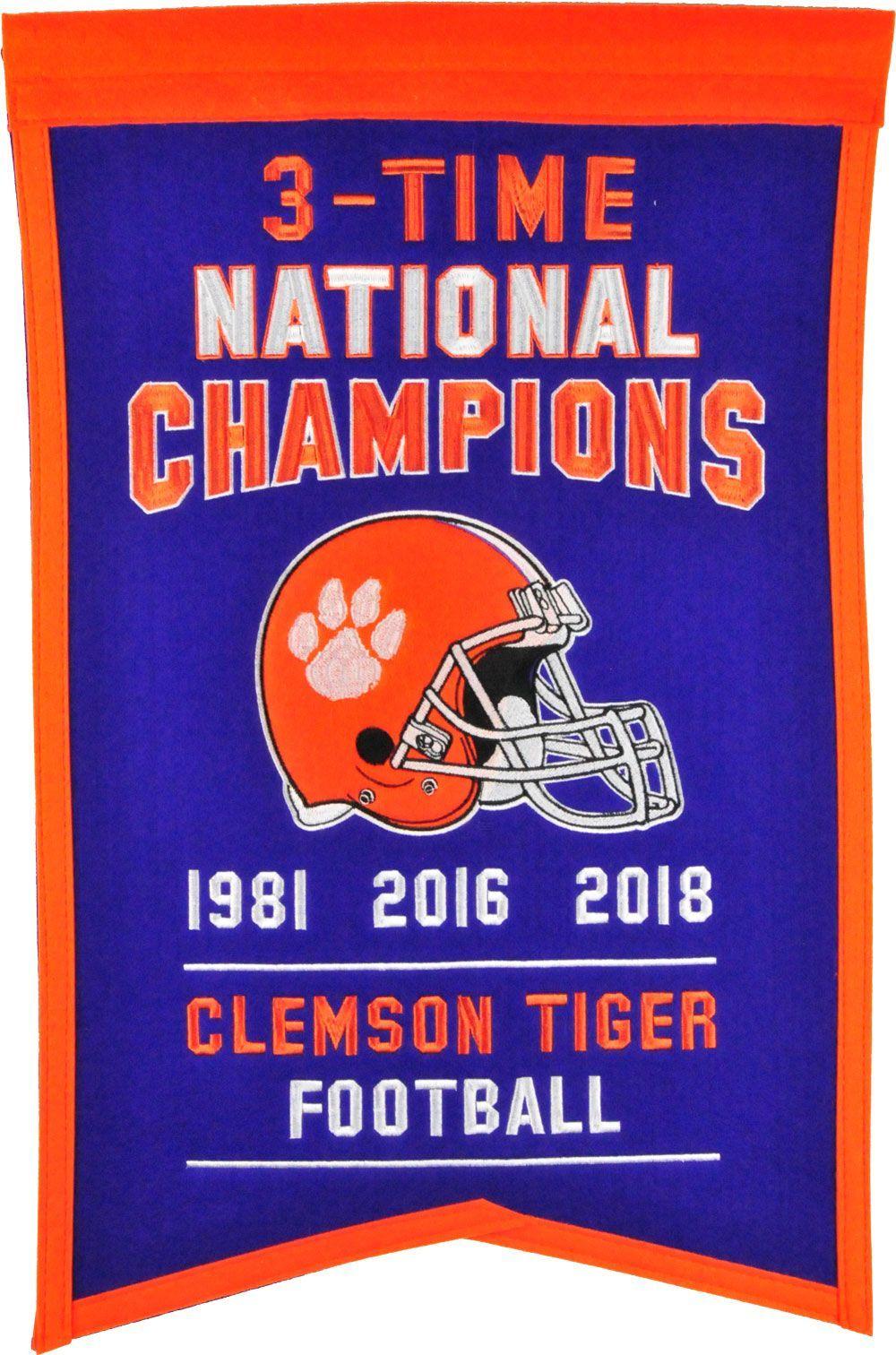 Winning Streak Sports 2018 National Champions Clemson