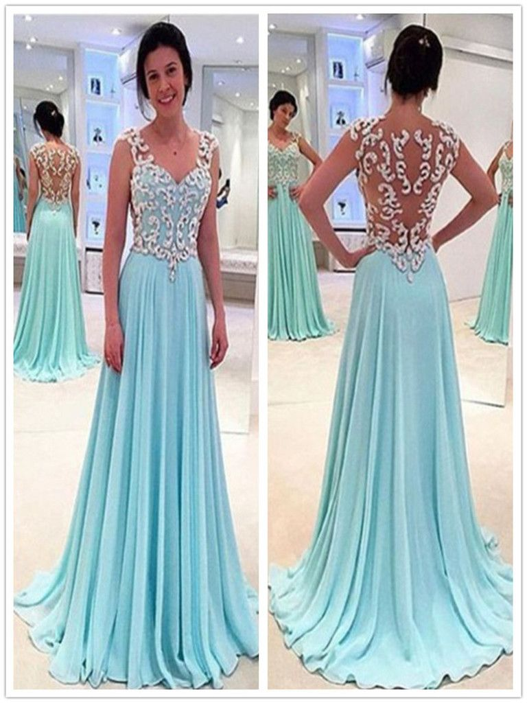 chiffon #prom #party #evening #dress #dresses #gowns #cocktaildress ...