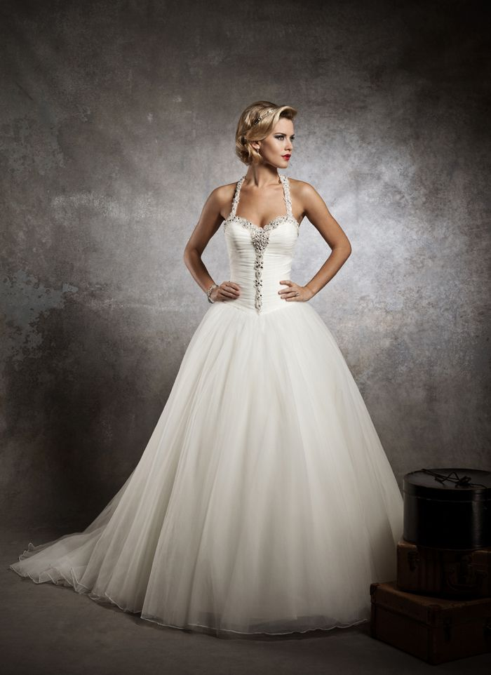 78a95f04e60 Justin Alexander wedding dresses style 8637 Strapless sweetheart ruched  French tulle bodice accented by crystal and pearl beading at neck line and  center of ...