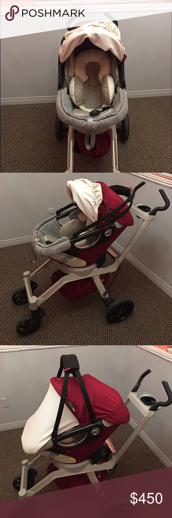 Orbit stroller G2 Good condition stroller frame and car