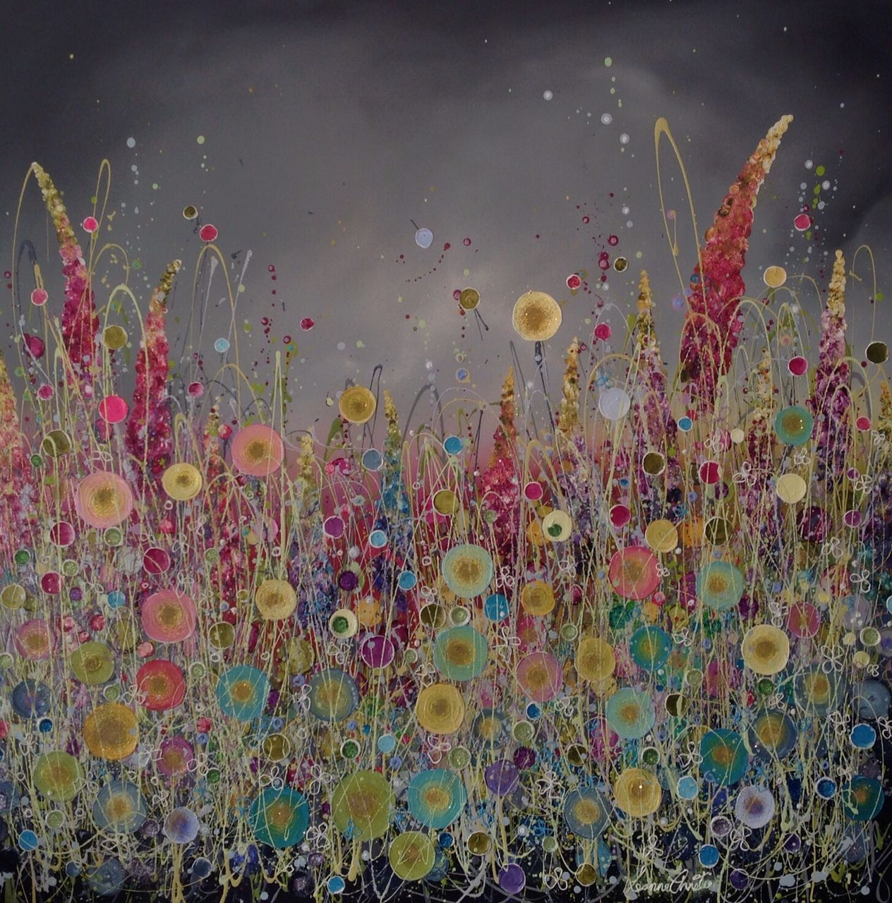 Dreamcatcher from @lchristieart stunning dramatic sky!