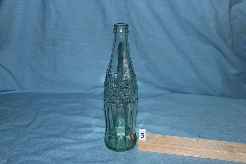 1955 Coca-Cola Embossed 12oz Empty bottle