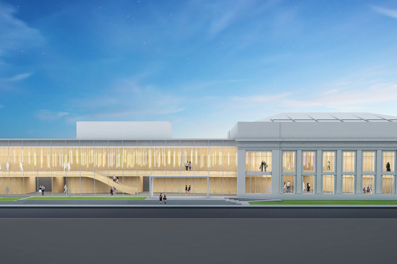 The Hilberry Gateway Performance Complex Will House The College Of Fine Performing And Communication Arts Programs Wayne State Univer With Images House Styles Detroit