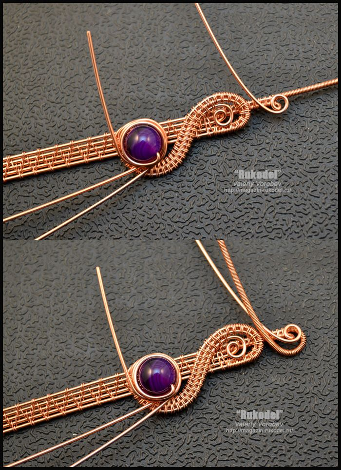 Photo of Wire wrap tutorial. Wire wrapped pendant