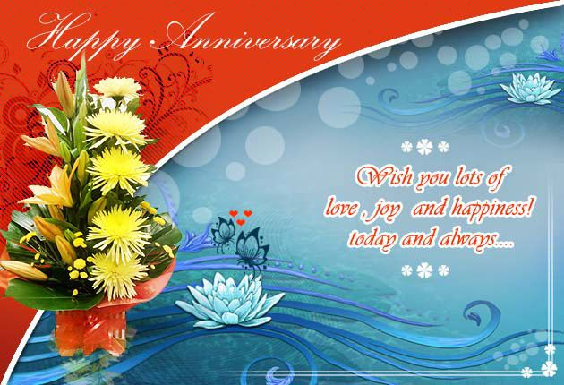 Romantic wedding anniversary wishes a house of fun home