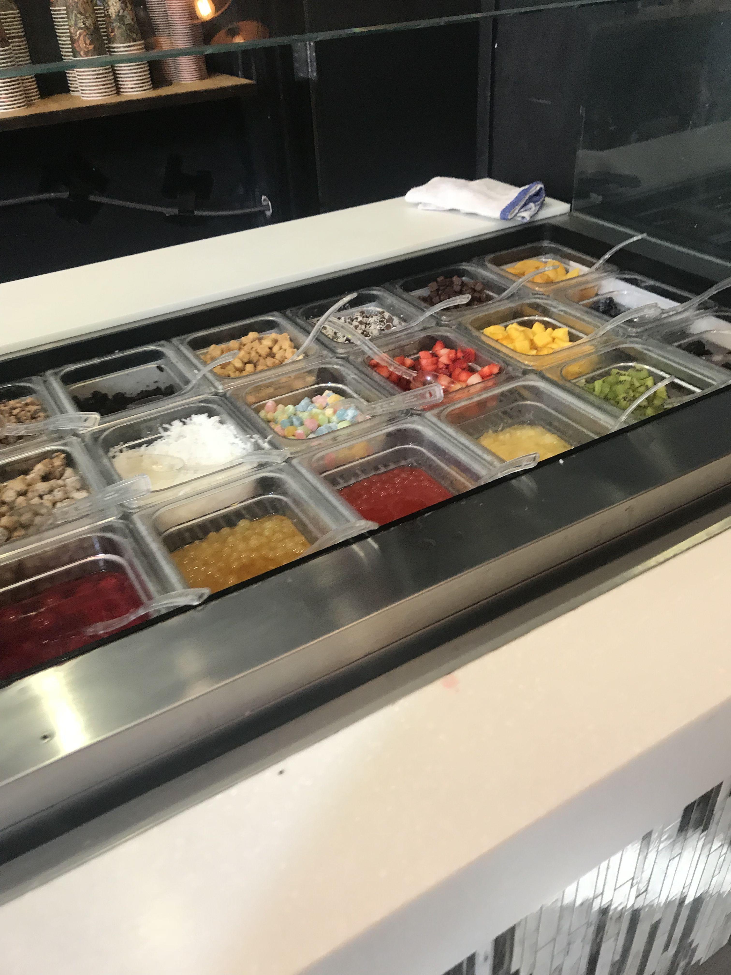 blizz frozen yogurt van nuys ca